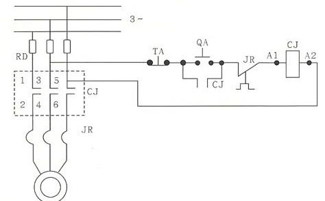 cj20系列交流接触器的接线图