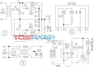 可控硅的几种典型应用电路