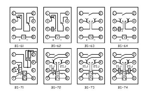 时间继电器接线图_软启动技术网