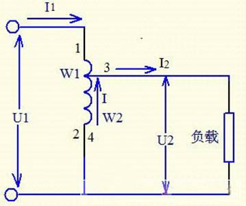 自耦变压器原理图_自耦变压器