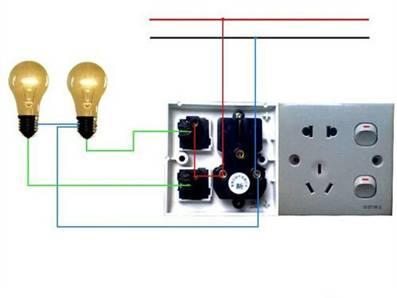 电工常见电路图_电工常见接线图_电工基础知识学习