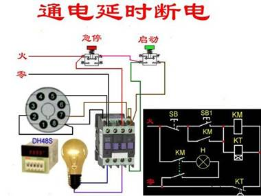 电工常见电路图_电工常见接线图