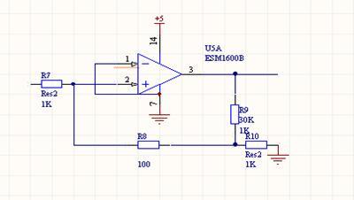 要选用集成放大电路来对霍尔元件的输出电压进行放大