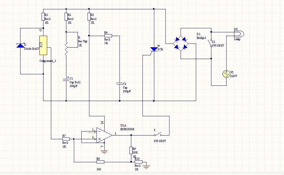 图3 霍尔接近开关原理图 从上述电路图(图3)以及前面的论述中我们可以得出:霍尔接近开关有五部分构成。下面我们会一一作解释 3、原理图解析 A、稳压电路 稳压电路的选择我们有2种可选元件稳压管、W7800系列三端稳压器、但是考虑到W7800系列的稳压范围是小电压、小电流,(像W78L05稳压为5V、0.