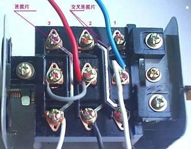 单相异步电动机电容接线图