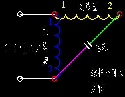 km1和km2的二次线路就用三相电机的普通正反转互锁电路就行了
