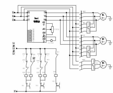 水泵变频器接线图   水泵变频器接线图和参数介绍   英威腾chv160