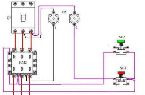 CJX2 12交流接触器接线图