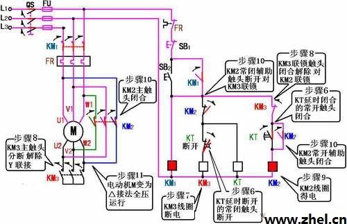 三相异步电动机降压起动的方法